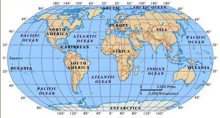 Map of the world with latitude and longitude timekeeperwatches flickr world map with latitude and longitude my blog updated sciox Image collections