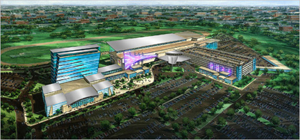 Plans for new casino at Aqueduct Racetrack in New York